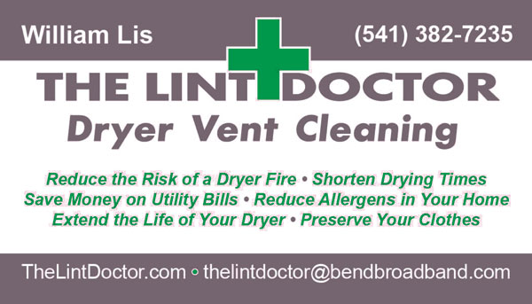 The Lint Doctor - Dryver Vent Cleaning and Lint Cleaing services